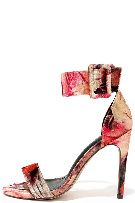 love-and-luck-beige-floral-velvet-ankle-strap-heels