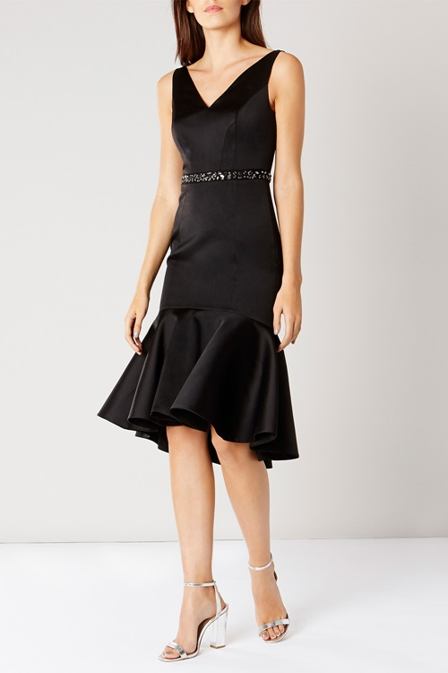 peplum-hem-dress