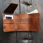 The Best Gift I´ve Ever Given My Man, A Leather Wallet