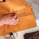 How to use leather strips and remnants to create beautiful fashion items