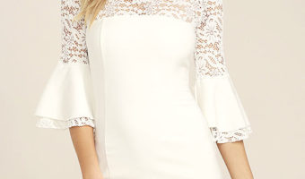 The Versatile White Lace Dress You Can Wear to Weddings This Summer