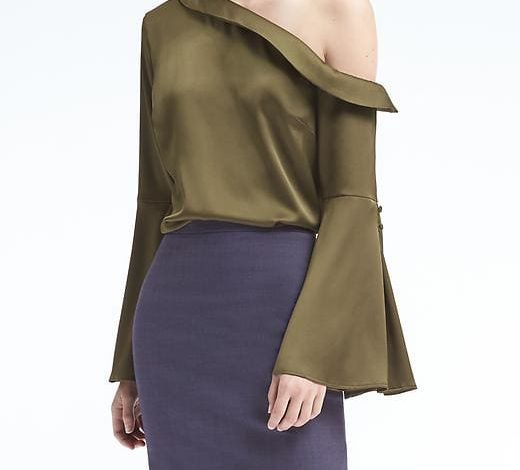 The Bell-Sleeve Top for the Office