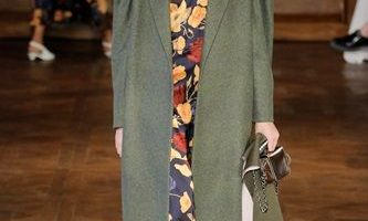 When it comes to tall coats, try this – Plain on Print or Vice-Versa