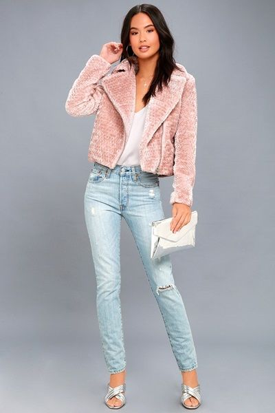 Blush-Pink-Faux-Fur-Moto-Jacket