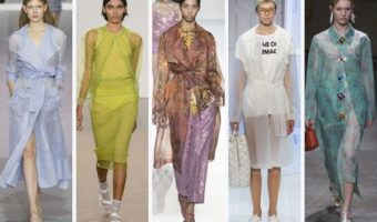 Sheer Top Layers Trend for Spring 2018