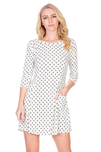 A-Line Casual Comfy Tunic Dress