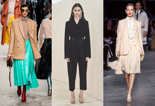 How to Wear Pleats to Work
