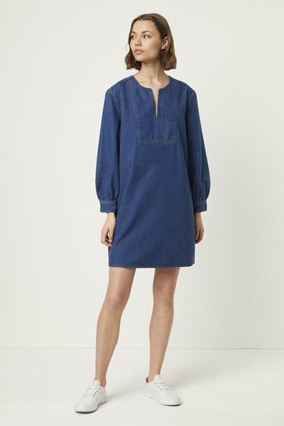 choosing the right denim dress