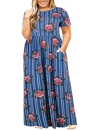empire dress plus-size women
