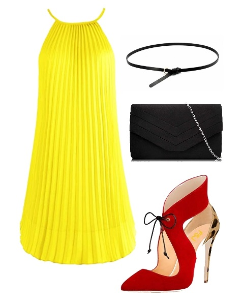 how to wear bold cut-out shoes