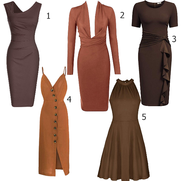nude dresses for dark skin tones