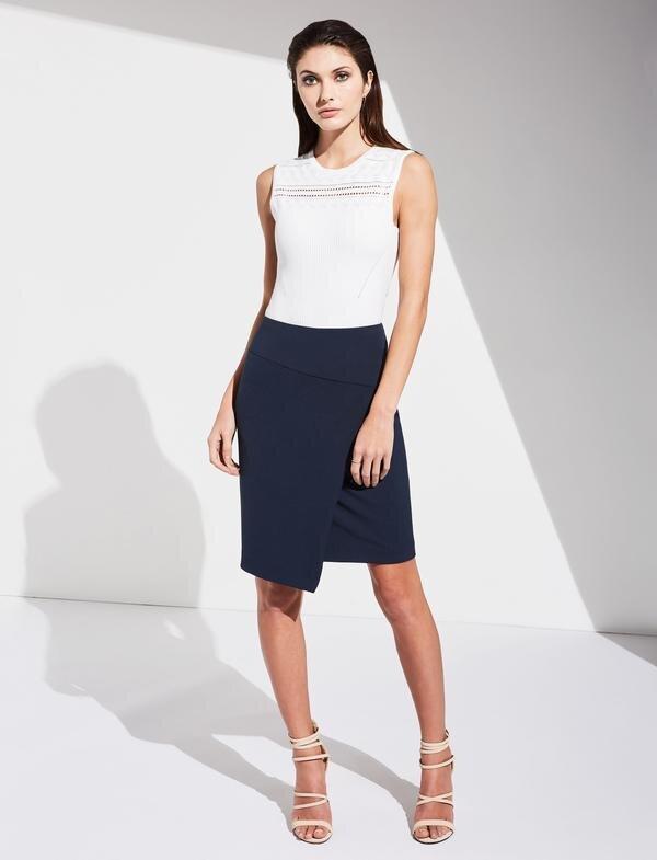 Assymetrical Pencil Skirt