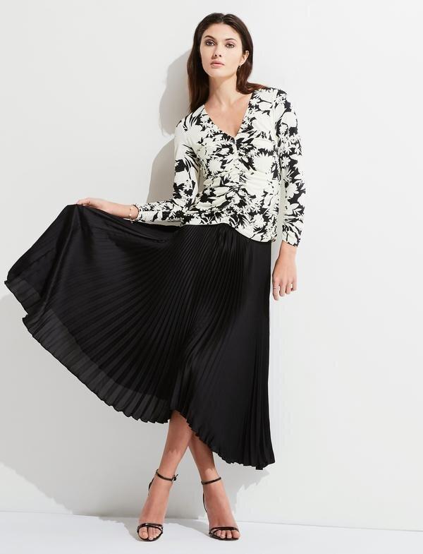 Not So Simple Black Skirt