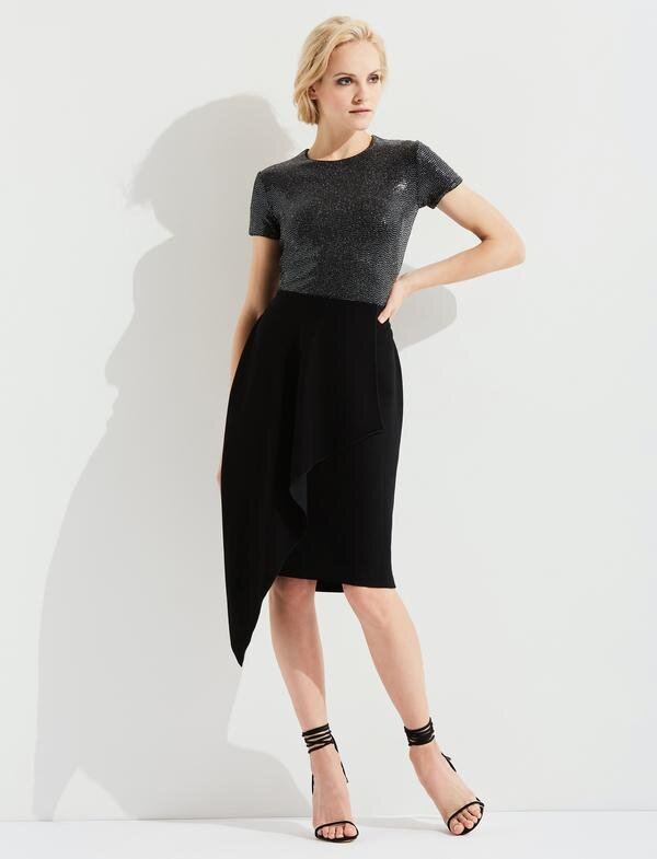Levelled-Up Suit Skirt