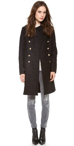 SAM. Officer Double Breasted Coat