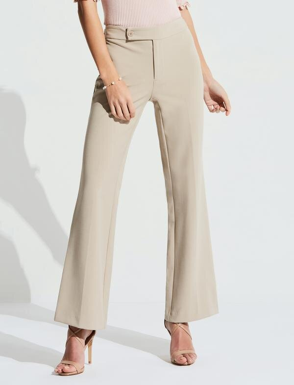 Updated Classic Wide-Leg Pants