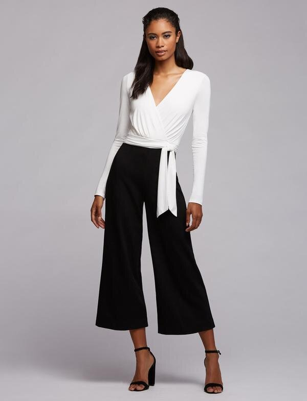 A Sleek Jumpsuit