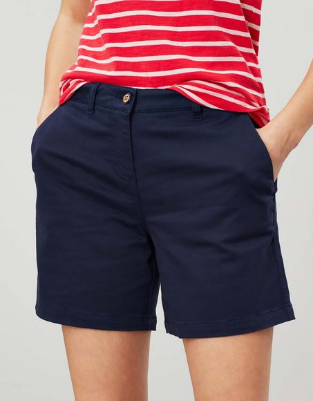 Cruise Mid Length Chino Shorts - French Navy
