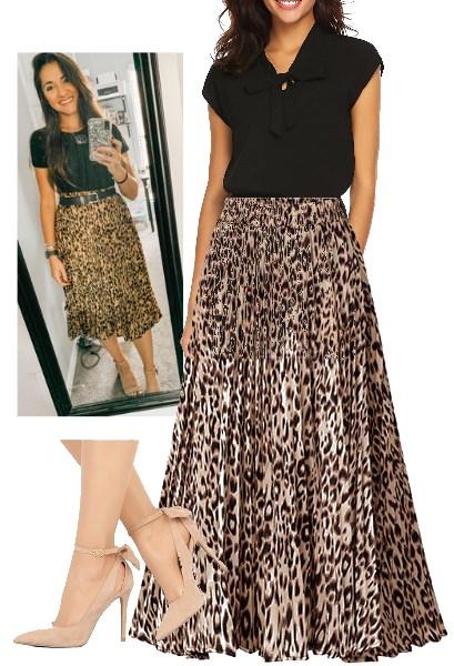leopard-print-midi-skirt-officewear