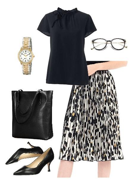 white-leopard-print-skirt-for-work