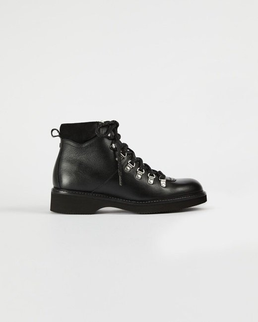 Leather-hiker-boots