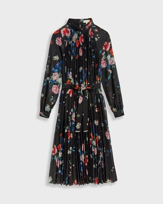 Sandalwood-pleated-midi-dress