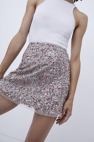 Eero Sequin Mini Skirt