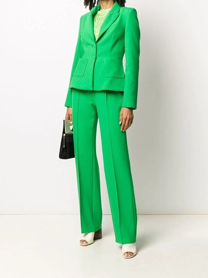 Wear Bright Colored Blazers: The Power Green