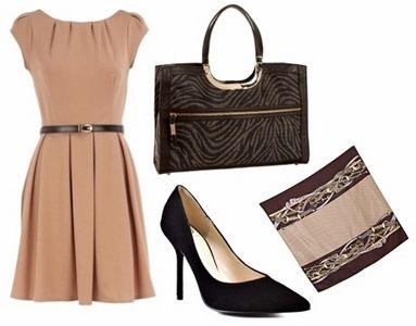 beige dresses stylish teacher clothes