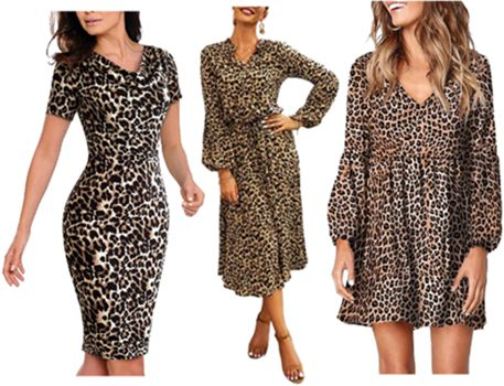 leopard print dresses for teachers