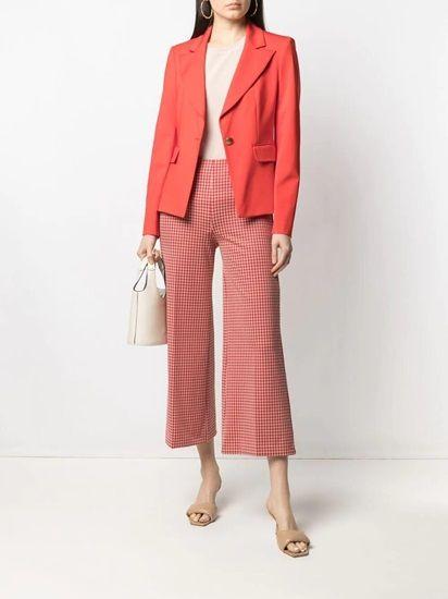 The Light Red Bright Colored Blazer