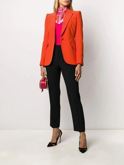 The Orange Bright Colored Blazer