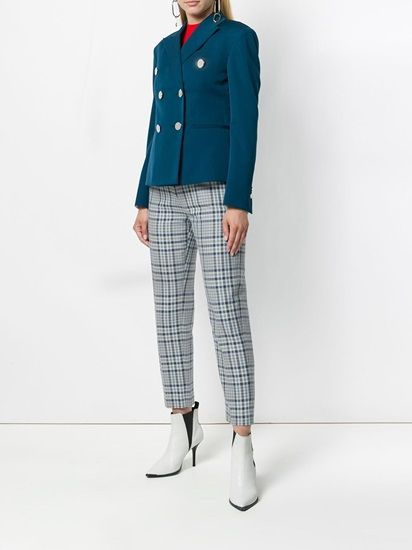 The Teal bright Colored Blazer