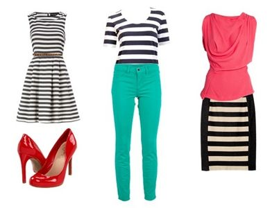 Wear Stripes with Bold Colors