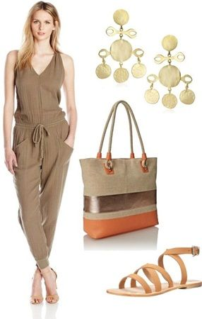 Casual summer outfit ideas: A Jumpsuit with Pockets