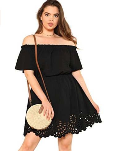 black-outfit-for-plus-size-women