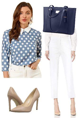 dusty-blue-polka-dot-peter-pan-blouse-shirt