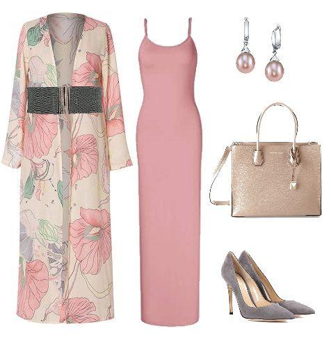 how to wear a slip dress to a wedding