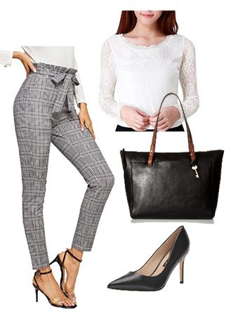 How to wear paperbag pants to work