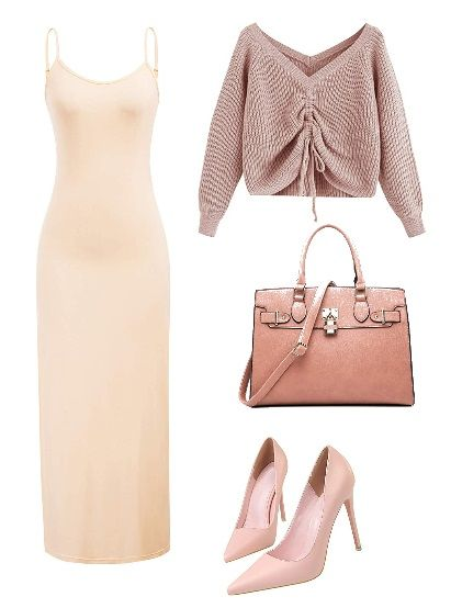 pink-monochrome-slip-dress-outfit