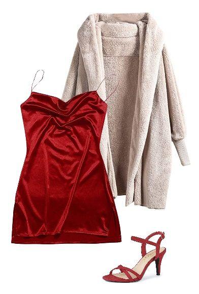 mini-slip-dress-super-long-coat