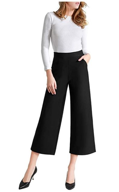 how-to-wear-gaucho-pants-to-work
