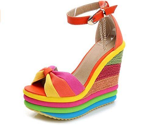 Rainbow-Wedge-Sandals