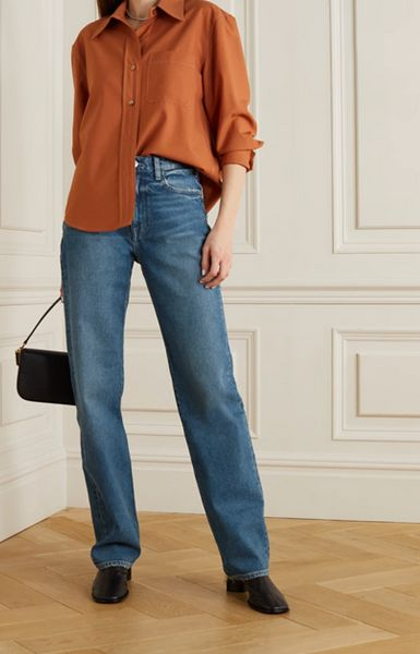 straight-jeans-with-leather-ankle-boots