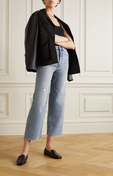 what-shoes-to-wear-with-cropped-flare-jeans